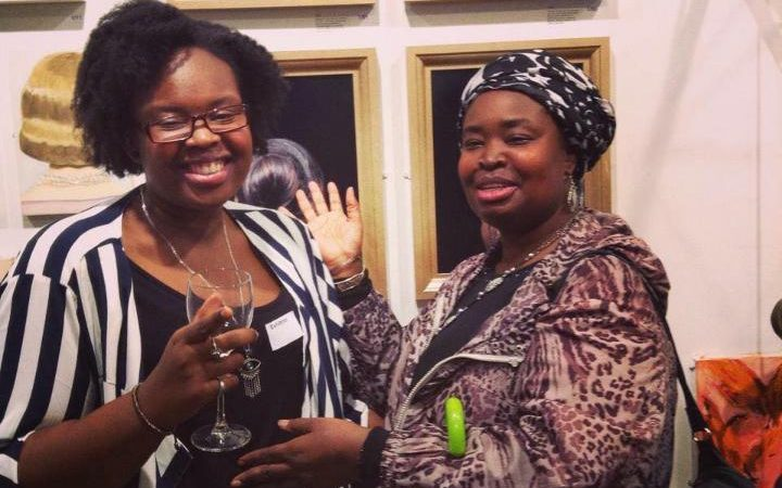 Khadija, pictured left, and her mother Mary Mendy are believed to have died in the fire
