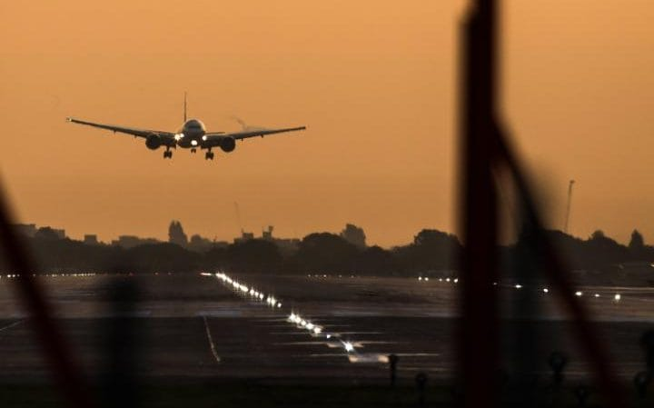 The hottest temperature this week was recorded in Heathrow airport