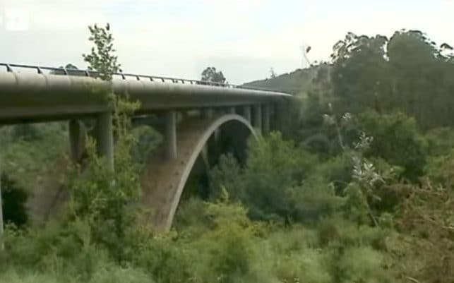 The Cedeja viaduct in Cantabria from which  Vera Mol jumped to her death in 2015