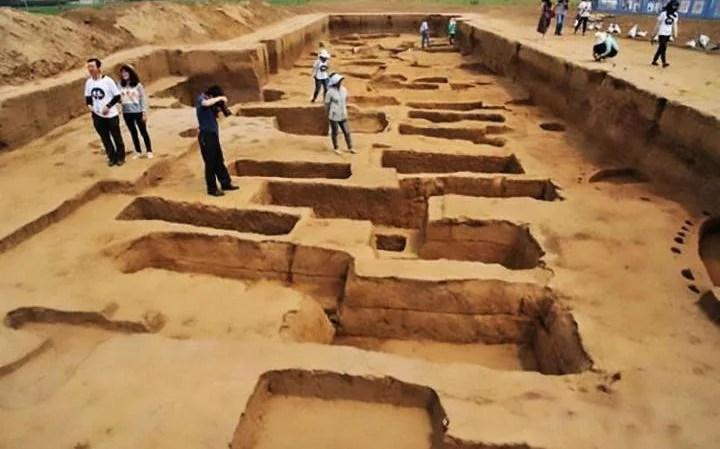 Jiaojia village china giants graveyard