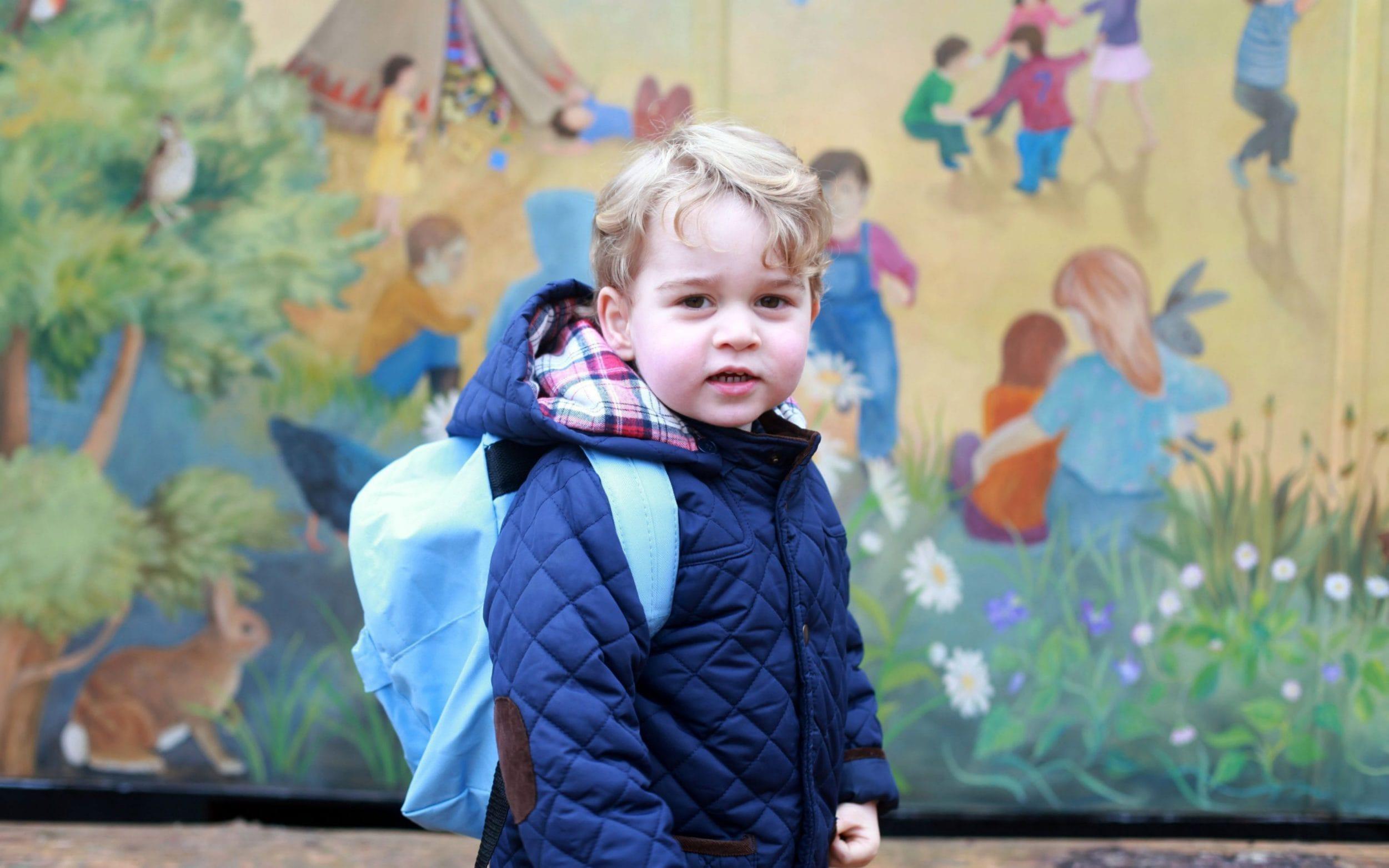 Prince George starts nursery