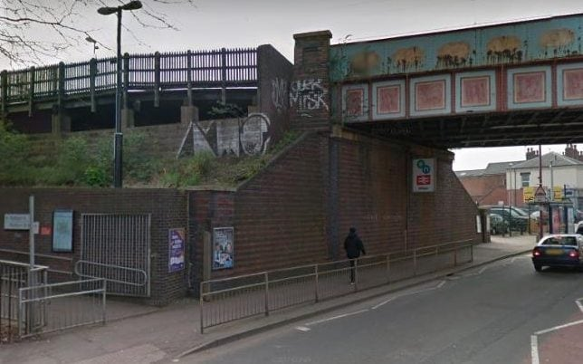 the teenager was first assaulted in a secluded part of Birmingham's Witton railway station
