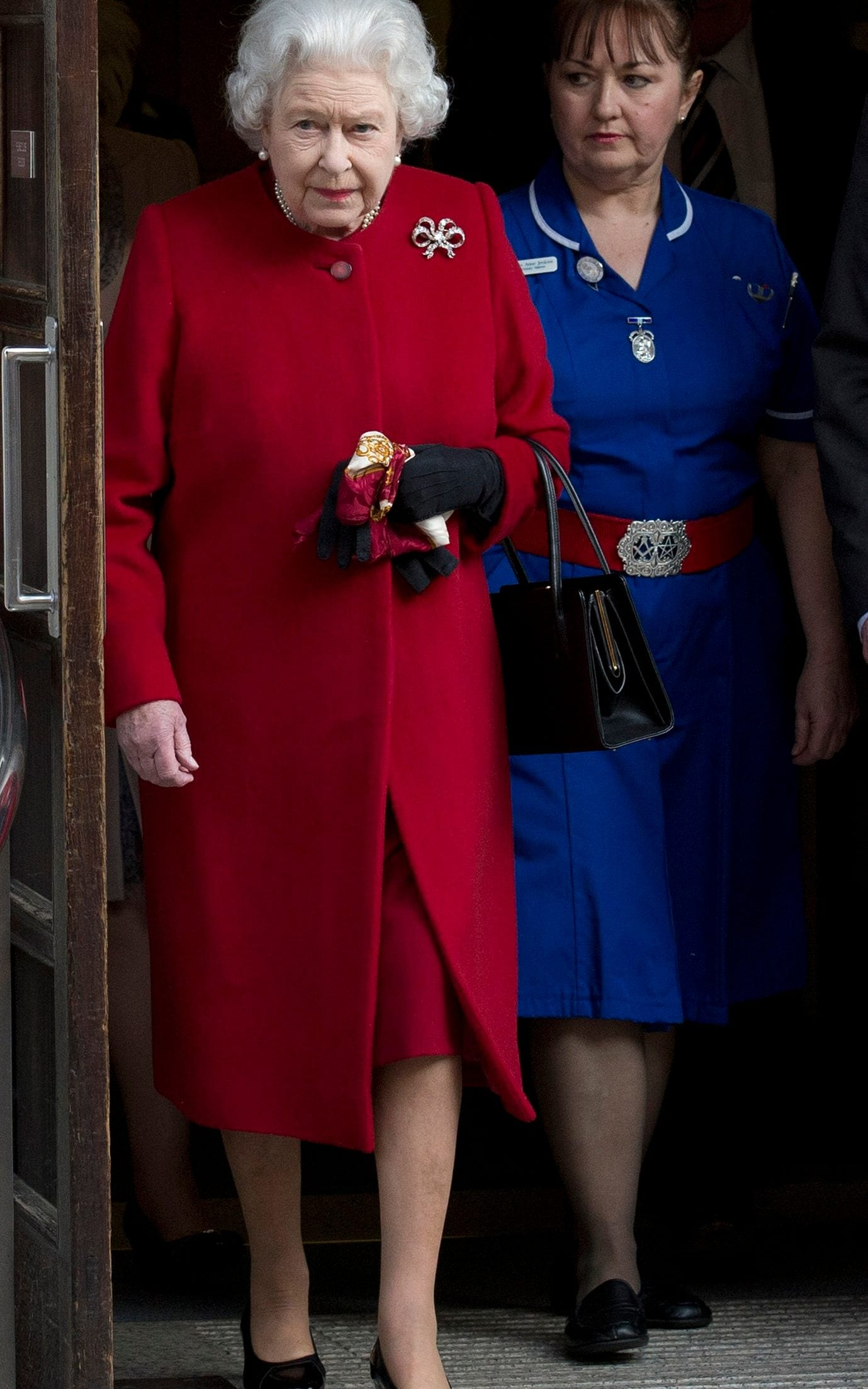 Queen at King Edward VII hospital