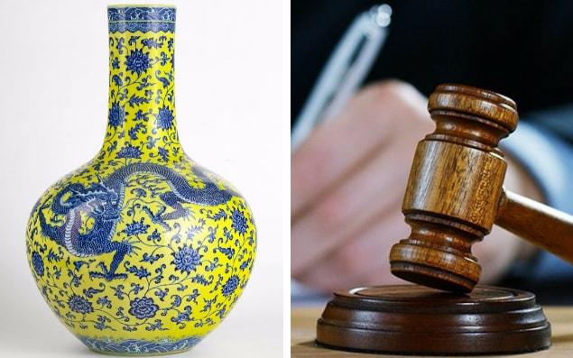 Chinese Vase Sells For 10 000 Times Estimated Price As Auction Involving Amateur Buyer Gets Way