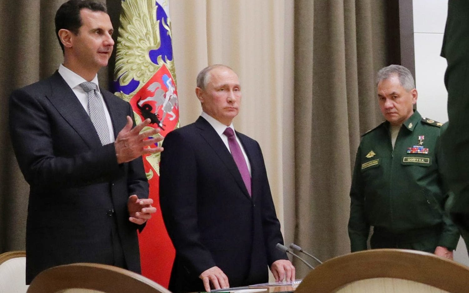 Image result for assad with putin, photos