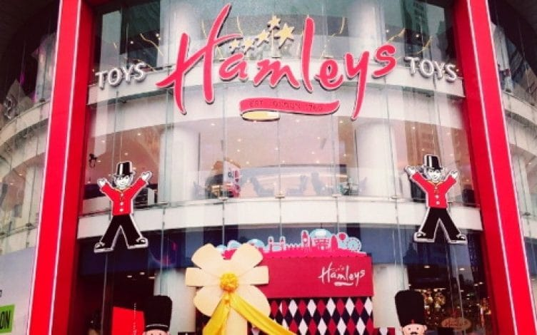 Toy retailer Hamleys moves into the Chinese market