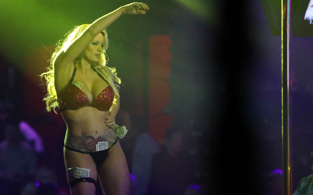 Stormy Daniels arrested for allegedly allowing strip club patron to touch  her