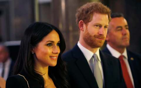 Meghan Markle and Prince Harry attend a reception hosted by Malcolm Turnbull for the Invictus Games
