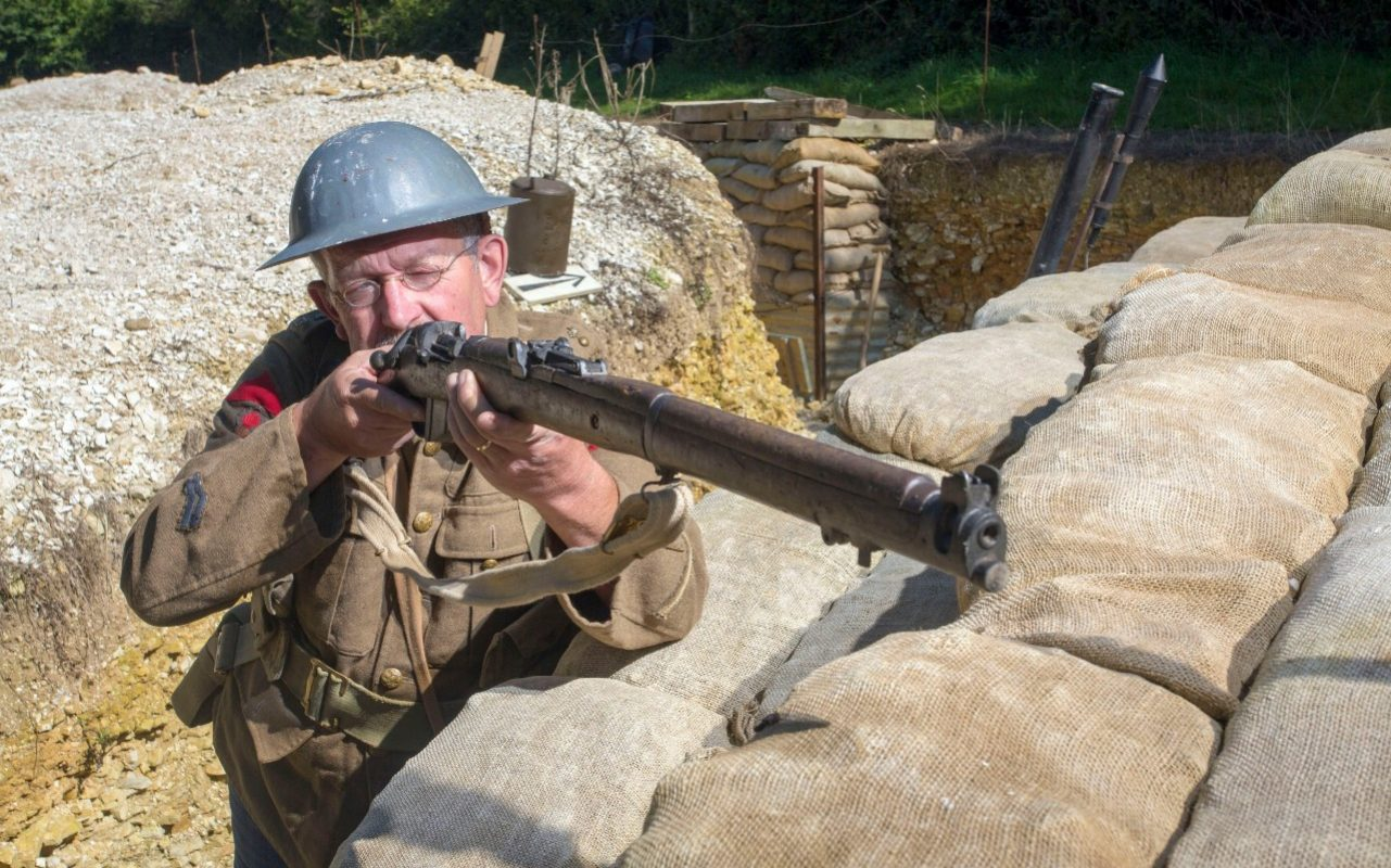 First World War History Buff Builds His Own Trenches And