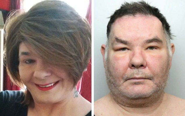 "Karen White (pictured), 52, was described as a ""predator"" who was a danger to women and children, Leeds Crown Court heard"