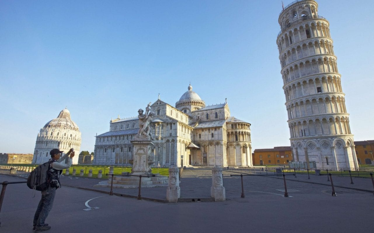 Leaning Tower Of Pisa Is Now Leaning A Little Less