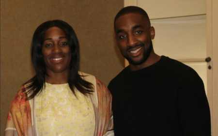 Labour MP Kate Osamor, with her son Ishmael Osamor who plead guilty to the drugs charge at Bestival music festival in Dorset last year