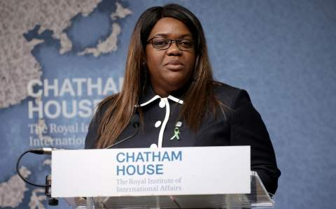 Paula Coelho announced the plan at Chatham House last week