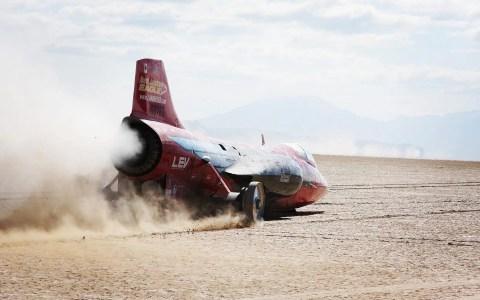 Combs's jet car