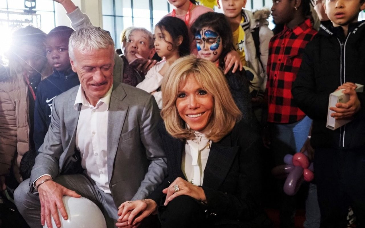 Brigitte Macron launches first major public role at hospital charity as husband faces ire of French doctors