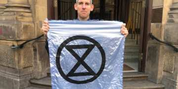 Olympic gold medalist spared jail over Extinction Rebellion protest as judge commends his commitment to cause