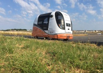 Driverless 'pods' tested with public for first time
