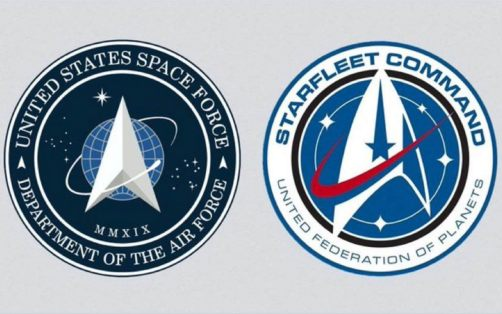 Donald Trump's US Space Force logo boldly goes where Star Trek went before
