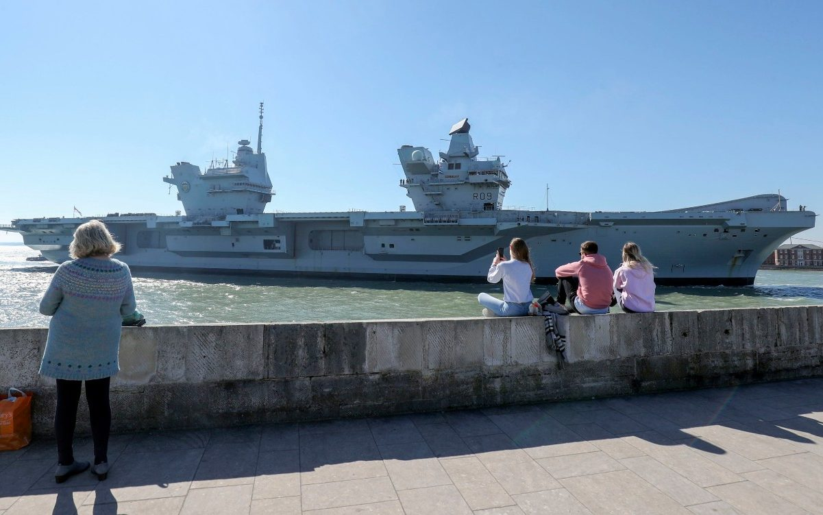 Royal Navy investigating leak aboard 3bn aircraft carrier HMS Prince of Wales