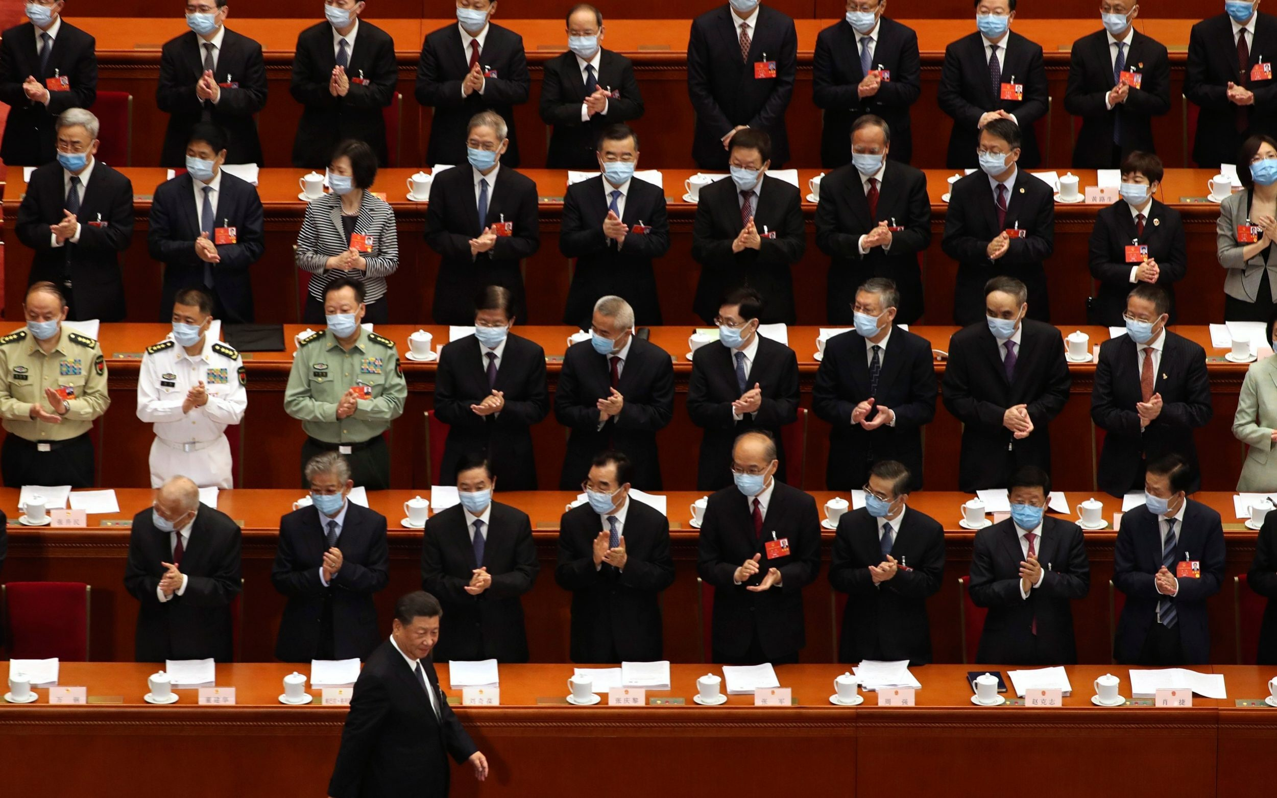 China's regime pledges to clamp down on dissent in Hong Kong at National People's Congress