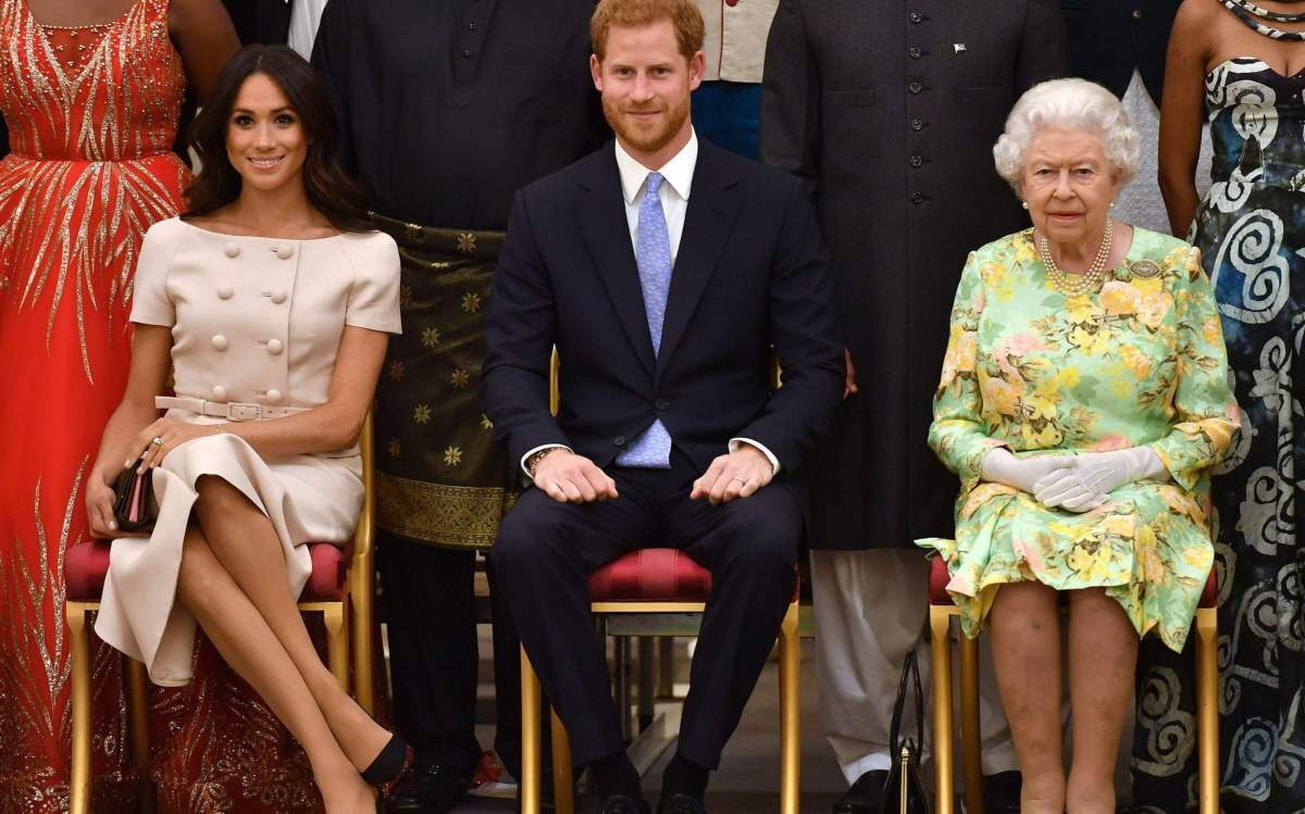 """The Duchess said the Queen was """"lovely"""" to her"""
