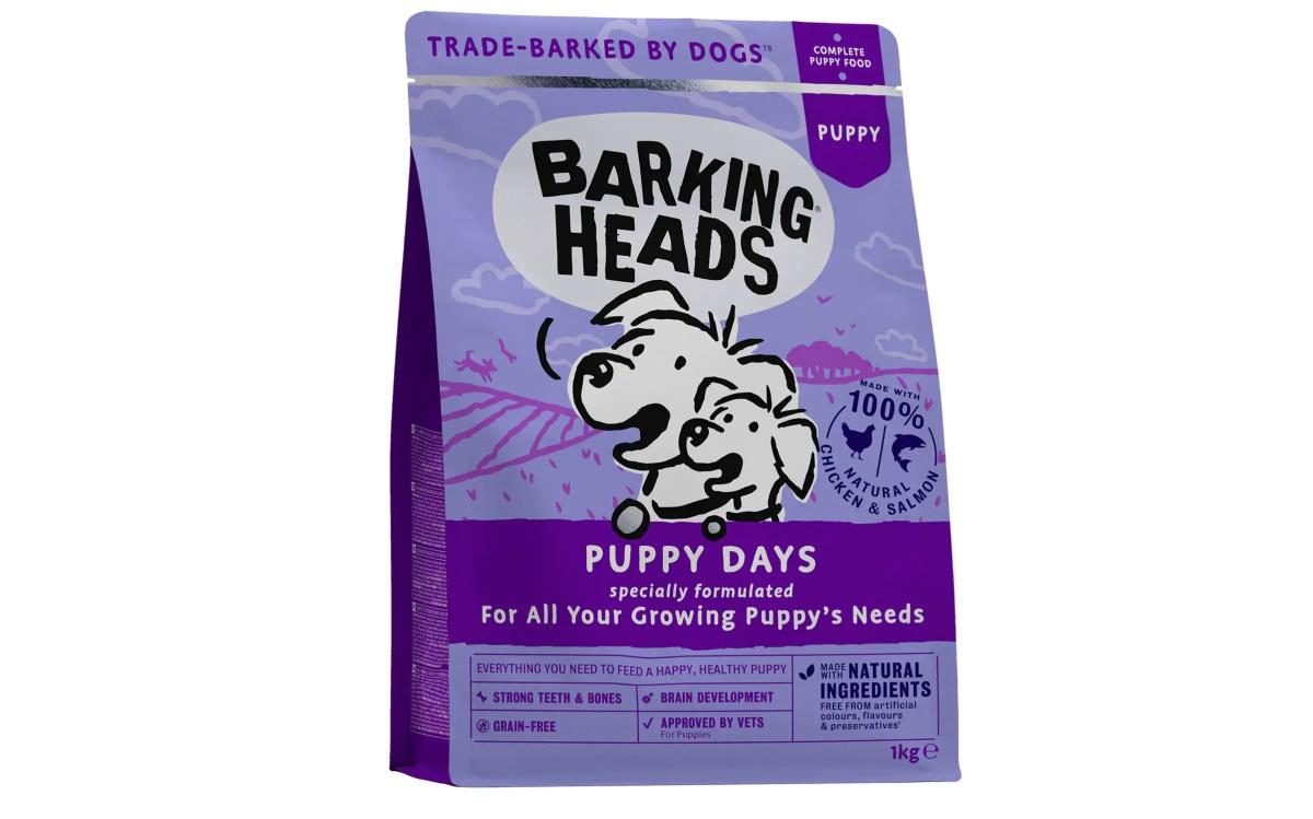Barking Heads Puppy Days grain-free puppy food