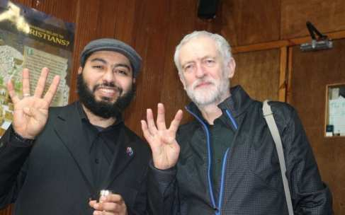 corbyn false muslim brotherhood claims