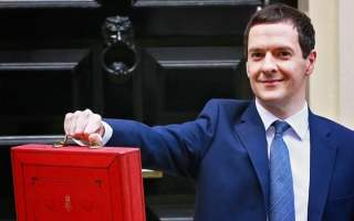 George Osborne Budget Day, Downing Street, London, Britain - 16 Mar 2016