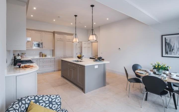 The show home at No 16 Northgate Street