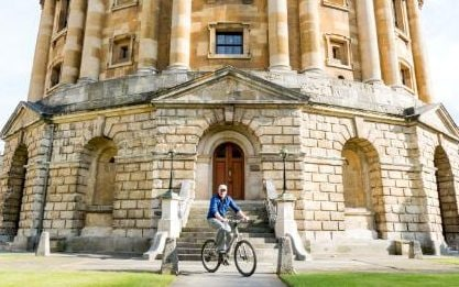 Oxford was ranked at sixth place in this year's QS rankings