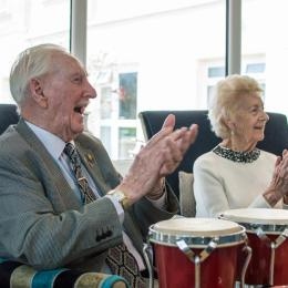 Music In Nursing Homes For A Very Merry Christmas