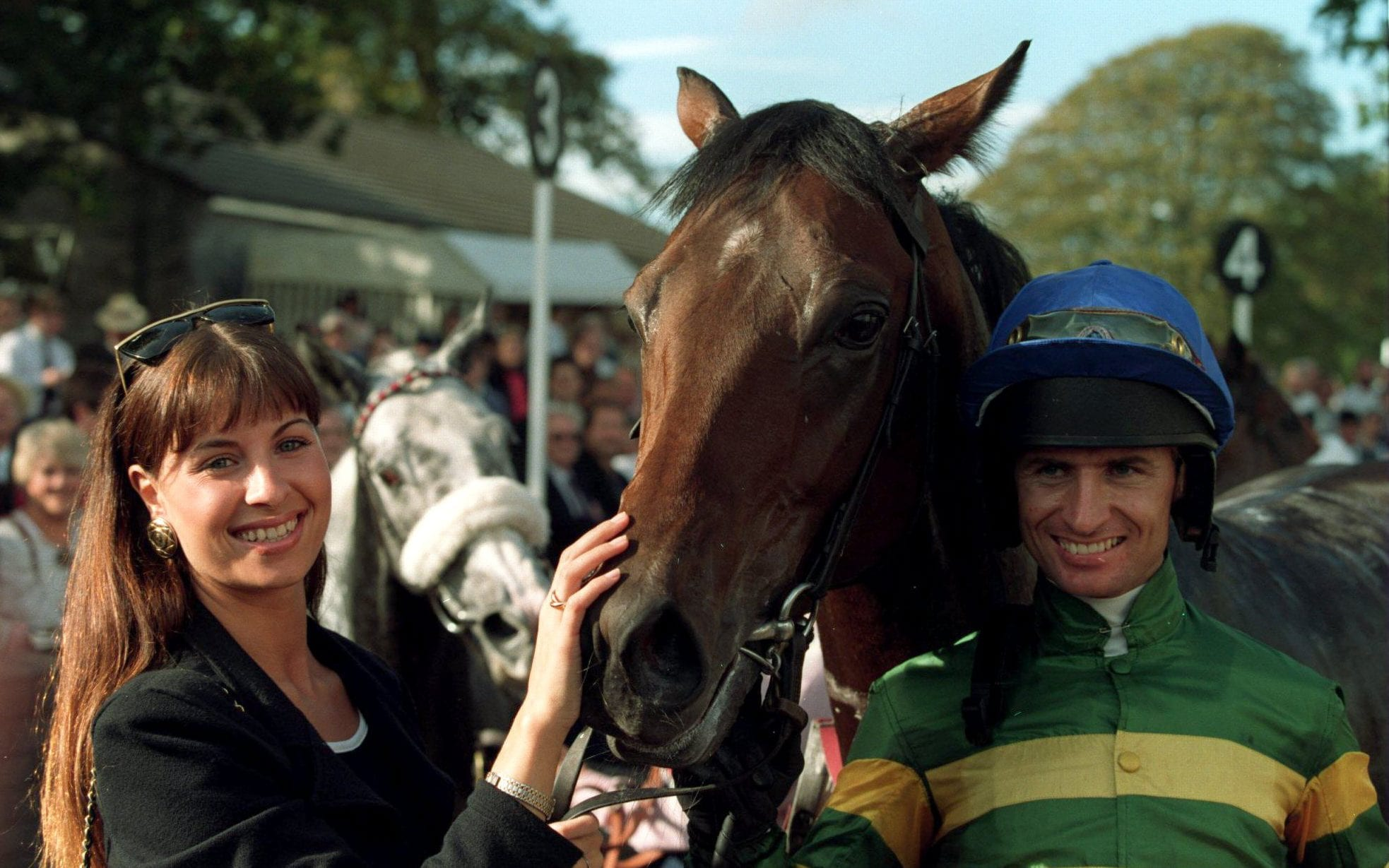 Declan Murphy and horse