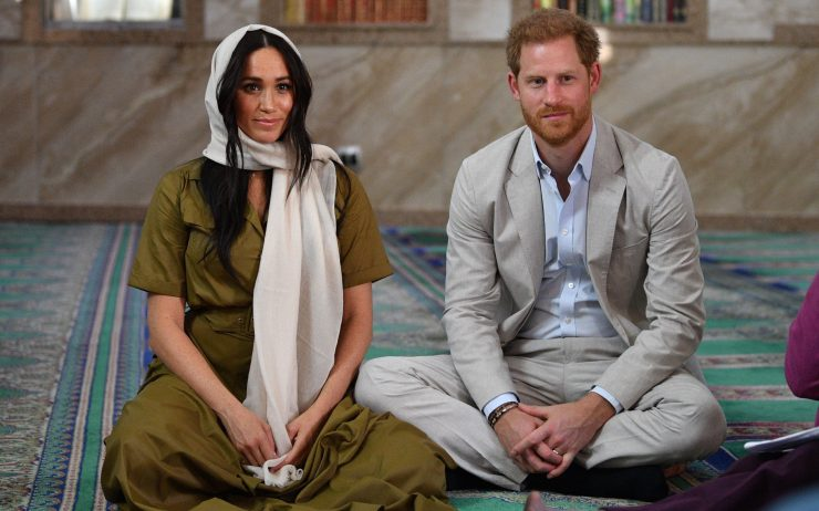 The Duke and Duchess of Sussex (Prince Harry and Megan) at South Africa's oldest mosque | Credit: Rex