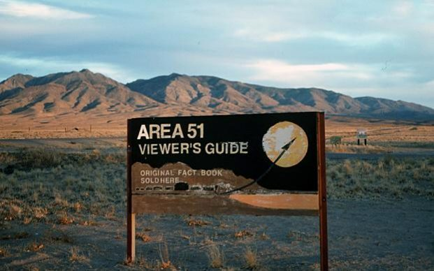 Area 51 in the Nevada desert