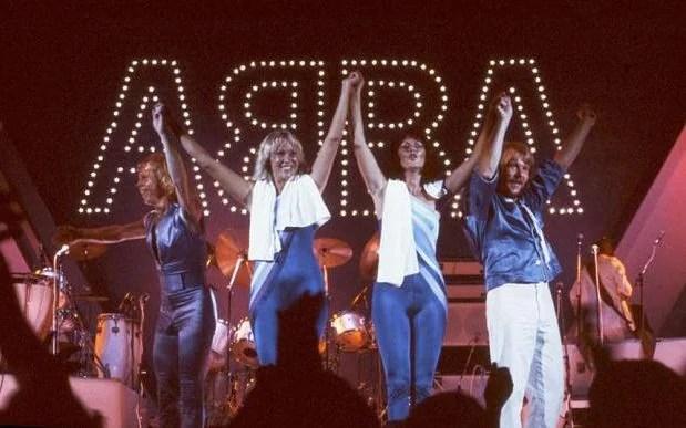 ABBA Live At Wembley Arena Press Image