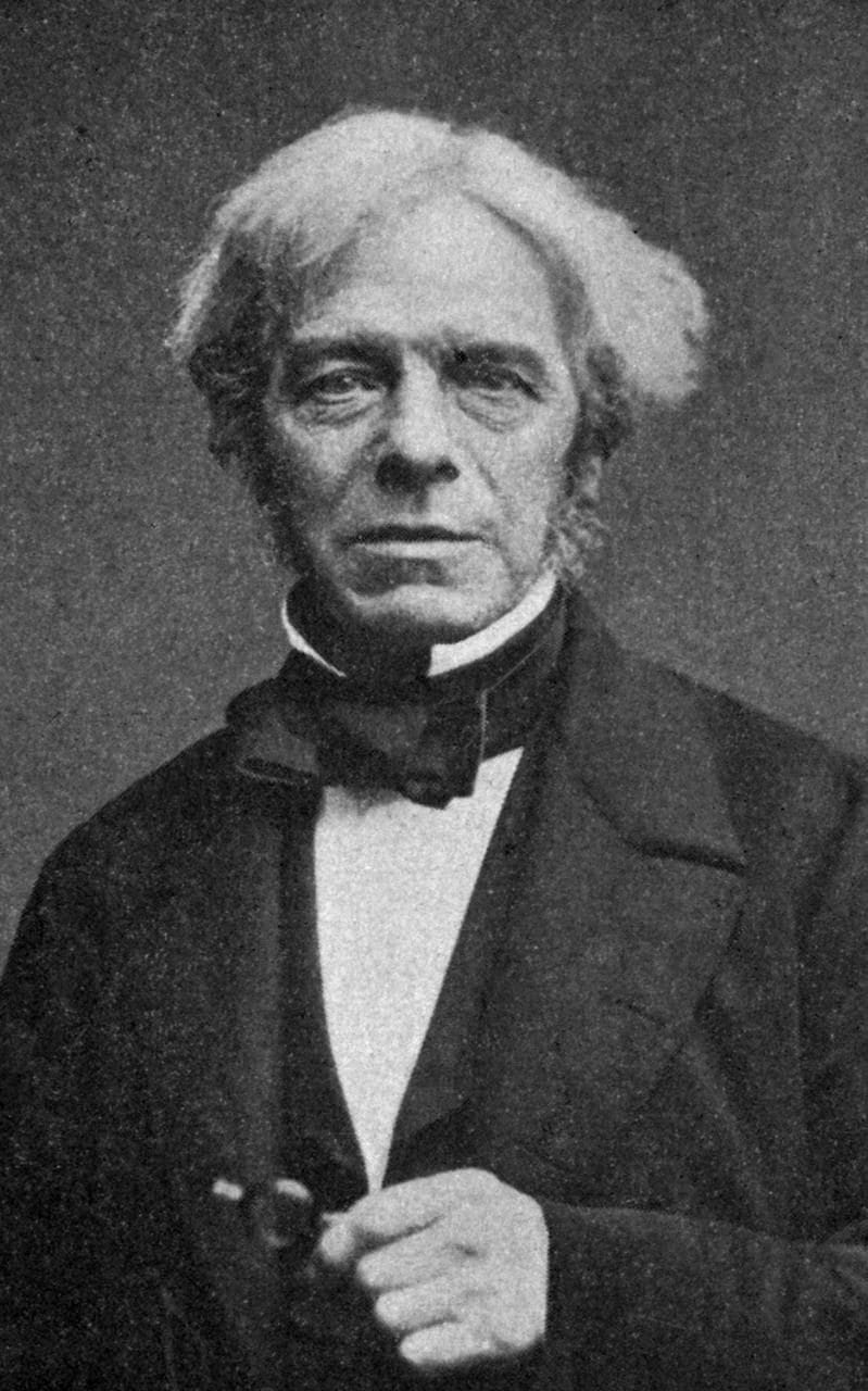 Michael Faraday who discovered the effect of a metal mesh on electricity