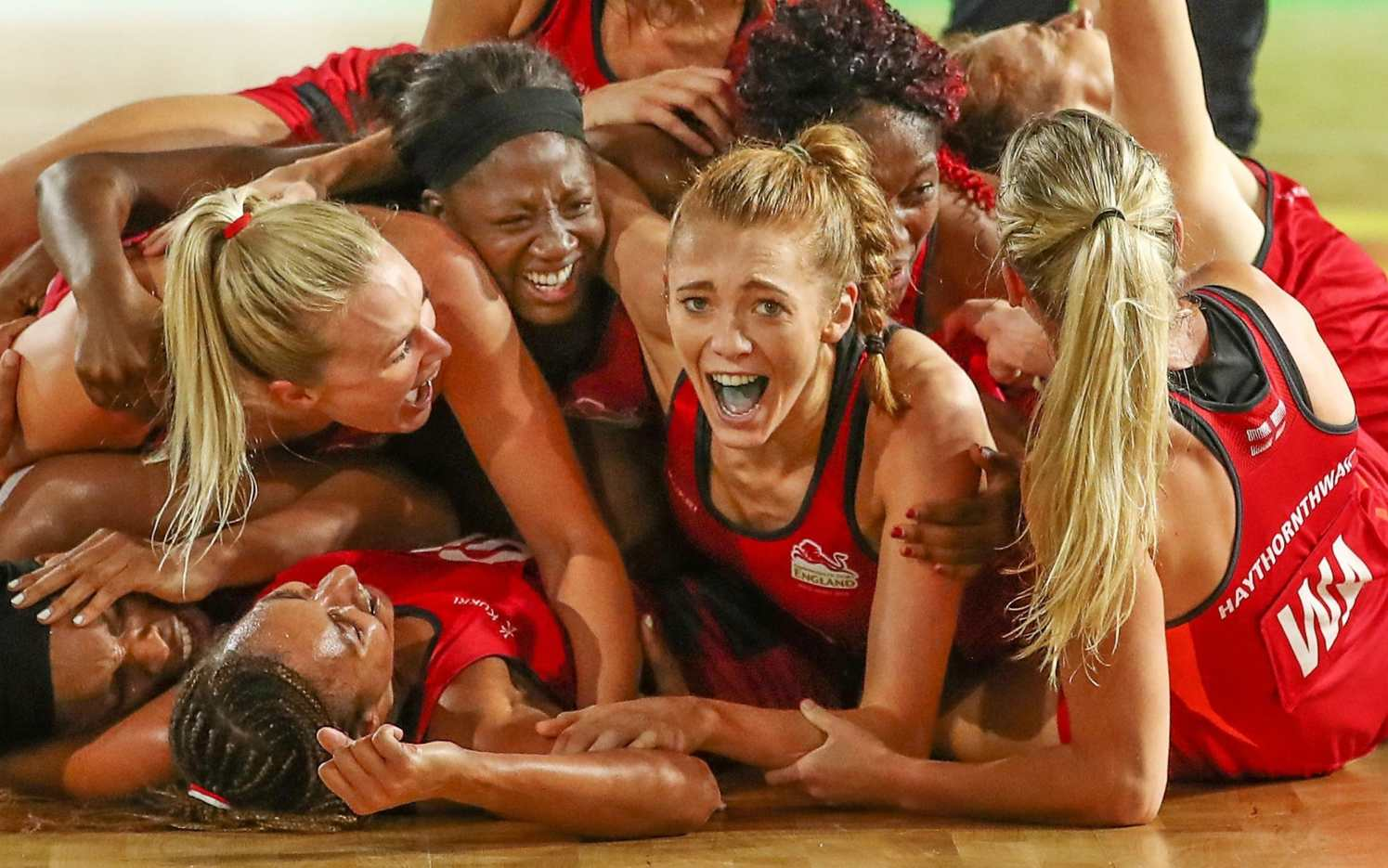 England stun Australia at the death to grab dramatic Commonwealth Games  netball gold