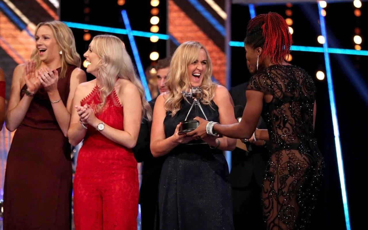 England Netball Seal Double Success At SPOTY Awards