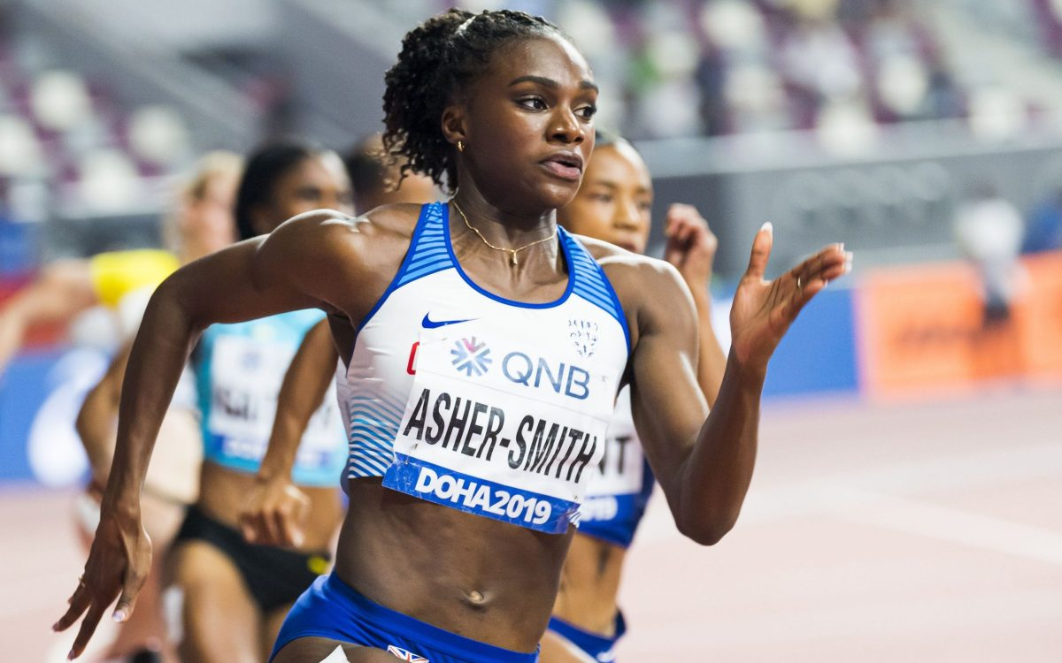 Dina Asher-Smith's first outing in Tokyo will come in the women's 100m heats in the first week