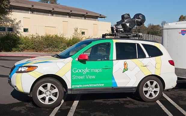 Google's Street View cars