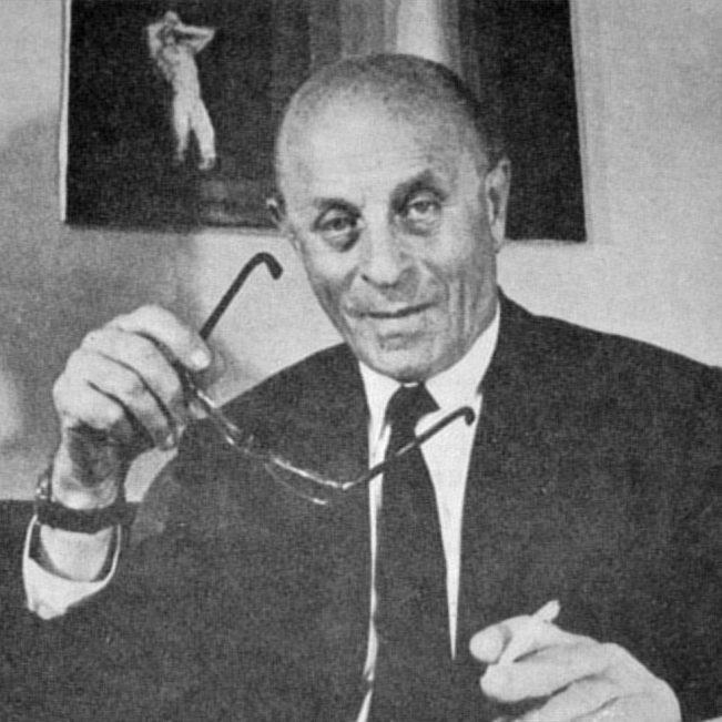 Ladislao José Biro in 1978