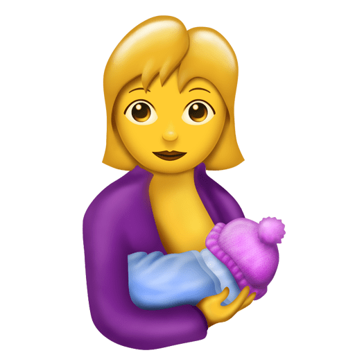 Breast-feeding emoji