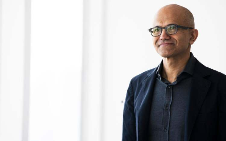 Microsoft chief Satya Nadella: 'We're on the right side of ...