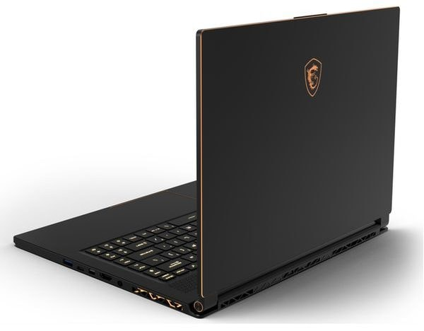 gaming laptop MSI stealth thin gs65