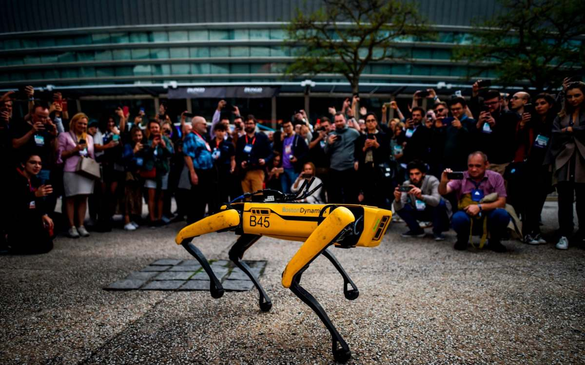 SoftBank recently sold a controlling stake in Boston Dynamics, another robotics business