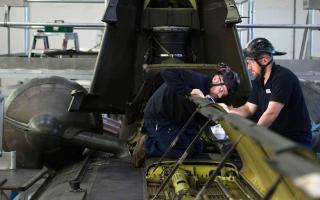 aerospace engineers at work