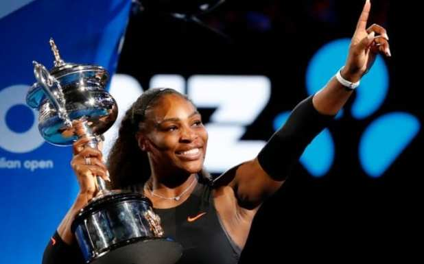 Image result for images of serena williams at the 2017 australian open