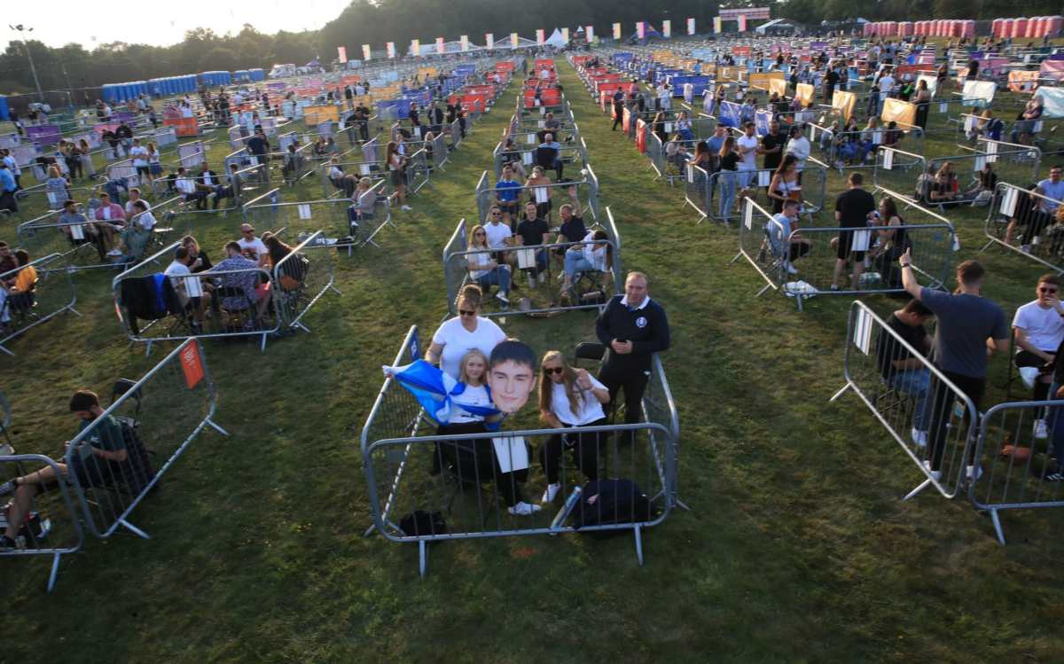 Big outdoor concerts will be back this summer, with or without social distancing