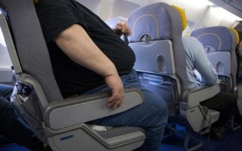 There has been a long-running debate about how airlines should treat over-sized passengers.