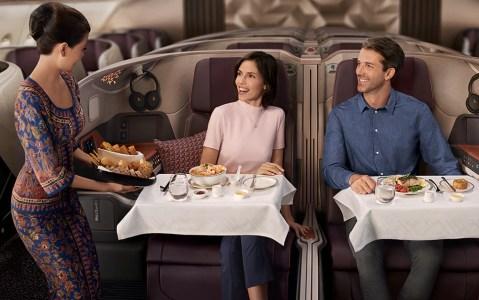 Der Flug wird einen Business-Class-Abschnitt haben - aber keine Economy-Plätze